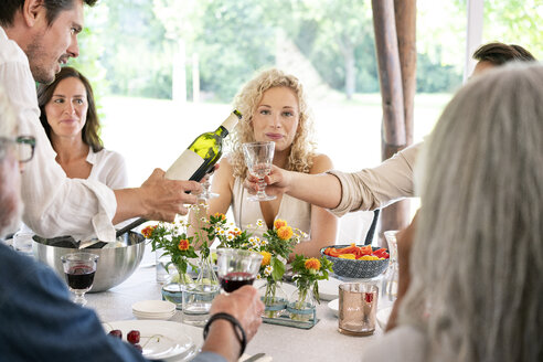 Portrait of young woman on a family celebration - PESF01279
