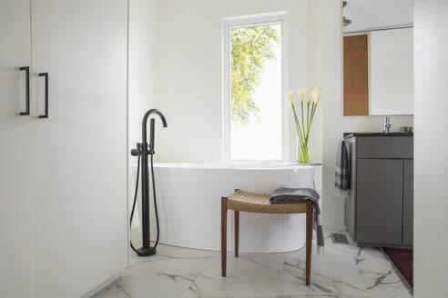Home showcase bathroom with soaking tub - HEROF20532