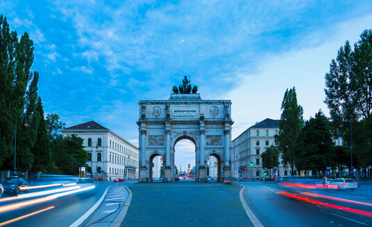 Siegestor Victory Gate, Munich, Germany - CUF48616