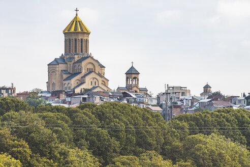 Georgia, Tbilisi, Sameba cathedral - KEBF01084