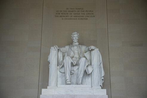 USA, Washington DC, Lincoln Memorial - RUNF01142