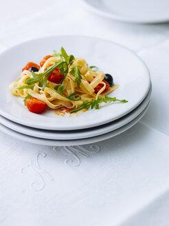 Plate of Tagliatelle alla putanesca - PPXF00156