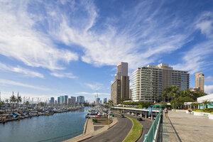 USA, Hawaii, Oahu, Honolulu, Ala Wai Boat Harbor - FOF10335