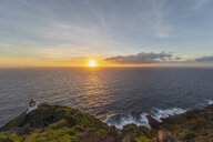 USA, Hawaii, Oahu, Honolulu, View from Makapu'u Point, Lighthouse at sunrise - FOF10337