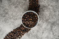 Bowl full of coffee beans - AFVF02373