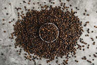 Bowl full of coffee beans - AFVF02376