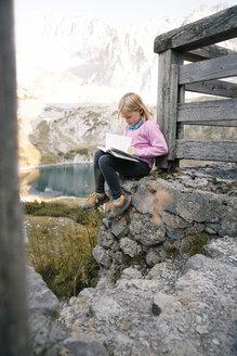 austria, Tirol, Drachensee, Mountain, family - FKF03283