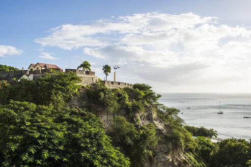 Fort Oranje, Oranjestad capital of St. Eustatius, Statia, Caribbean,  Netherland Antilles - RUNF01254