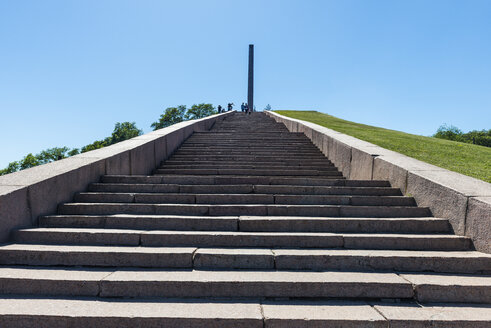 World war memorial, Chernihiv, Ukraine - RUNF01275