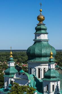 View over the Trinity Monastery, Chernihiv, Ukraine - RUNF01278