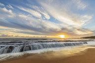 USA, Hawaii, Kauai, Eleele, Salt Pond Park at sunset - FOF10463