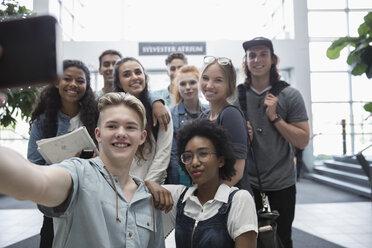 College students taking selfie - HEROF24076