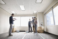 Business people planning new office space - HEROF24142