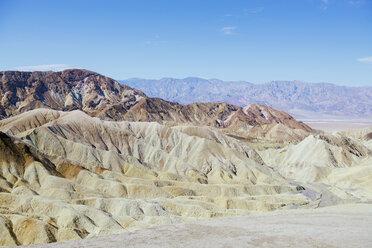 USA, California, Death Valley National Park, Twenty Mule Team Canyon - GEMF02845
