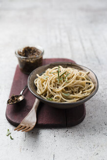 Spaghetti with homemade sesame pesto - MYF02083