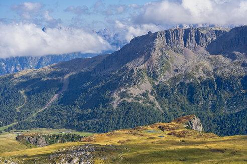 Italy, Veneto, Dolomites, San Pellegrino Pass, Alta Via Bepi Zac - LOMF00803