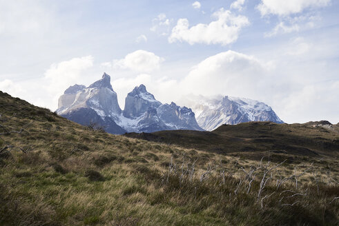 Chile, Patagonia, Landscape of Torres del Paine National Park - IGGF00775