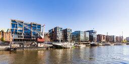 Germany, Hamburg, Sandtorhafen - WDF05103