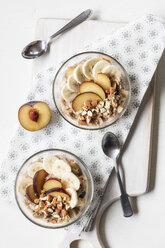 Cereals with banana and plum - EVGF03424