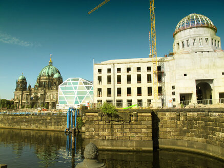 Germy, Berlin, Mitte, Berliner Dom and Berlin City Palace construction site - ALE00101