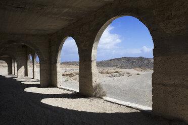 Spain, Tenerife, Abades, Sanatorio de Abona, ghost town - PSTF00316