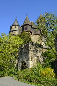 Schloss der Grafen von Solms, Braunfels, Hessen, Deutschland - LBF02391