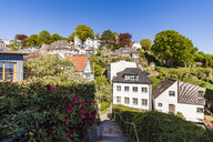 Germany, Hamburg, Blankenese, residential houses - WDF05171