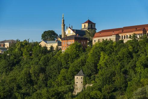 View over Kamianets-Podilskyi, Ukraine - RUNF01405