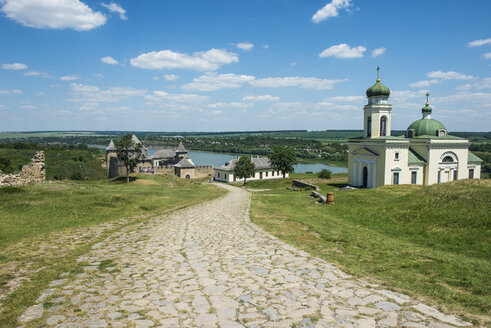 Khotyn Fortress on the river banks of the Dniester, Ukraine - RUNF01414
