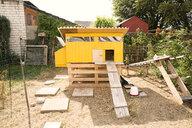 Chicken house in garden - MFRF01227