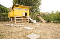 Chicken house in garden - MFRF01248