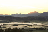 Germany, Bavaria, Allgaeu, sunrise - DLF00043