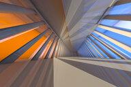 3D Rendered Illustration, Architecture visualisation of a futuristic interior - SPCF00371