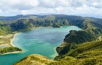 Portugal, Azores Islands, Sao Miguel, Lagoa do Fogo - KIJF02414