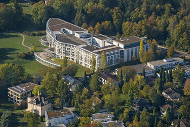 Germany, Baden-Wuerttemberg, Lake Constance, Constance, aerial view clinic Schmieder - SH02113