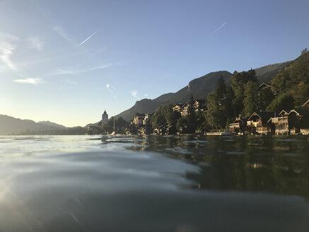 Austria, Alps, Salzburg, Salzkammergut, Salzburger Land, Wolfgangsee and St. Wolfgang village - GWF05987