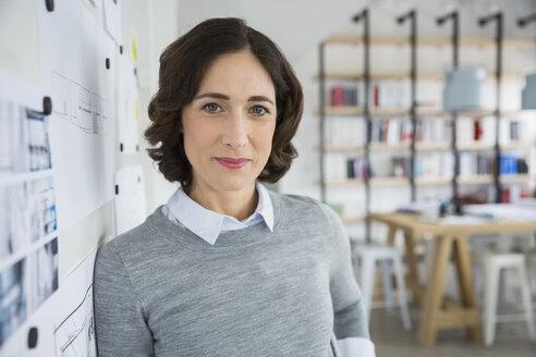 Portrait confident architect in office - HEROF27896