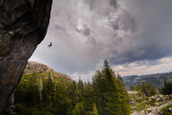 Rock climbing, Truckee, California, United States - ISF20968