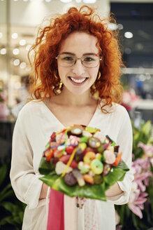 Serbia, Novi Sad, Florist, Candy bouquet, Shop - ZEDF01993