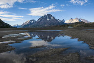 Chile, Patagonia, Torres del Paine National Park, Lago Grey - RUNF01487