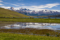 Chile, Patagonia, Torres del Paine National Park, scenic - RUNF01496