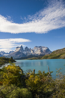 Chile, Patagonia, Torres del Paine National Park, Lake Pehoe - RUNF01502