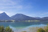 Austria, Alps, Salzburg, Salzkammergut, Salzburger Land, Wolfgangsee - GWF06004