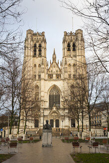 Belgium, Brussels, Cathedral of St. Michael and St. Gudula - WIF03859
