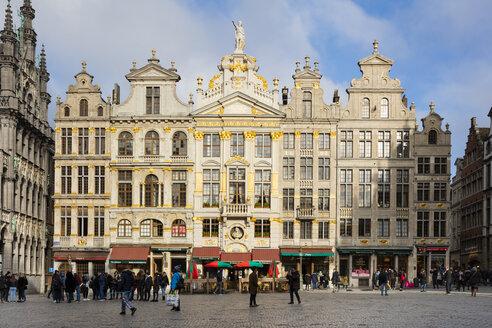 Belgien, Brüssel, Grand Place, Grote Markt,  Zunfthäuser, Gildehäuser - WIF03865