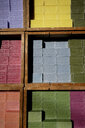France, Nice, Savon de Marseille, colorful soaps - HL01149