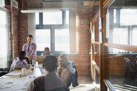 Business people meeting in conference room - HEROF28897