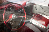 Interior of Red Car - MINF10619