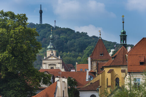 Czech Republic, Prague, the towers of the old town - RUNF01512
