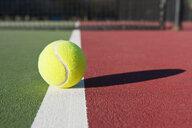 Tennis Ball Sitting on Court - MINF10792